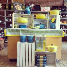 Come In To See The Latest Le Creuset Color Soleil