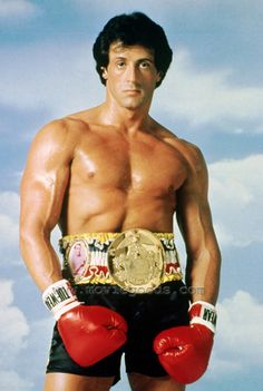Stallone #Rocky life sized ~(not overly big!) poster on my bedroom wall aged 12!