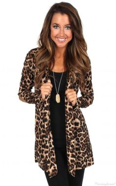455483e3ca3 Live While We re Young Leopard Print Cardigan Leopard Cardigan Outfit