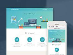 Personal Website Redesign by Bota Iusti