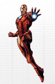 Avengers Iron Man  by *JPRart