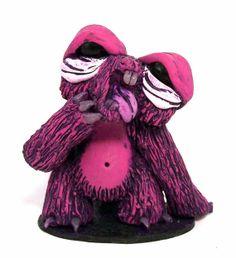Spleepy Sloth Desk Buddy Colectible art by CovingtonCreations, $32.00
