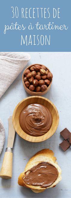 Au chocolat, aux noisettes, à la vanille, au caramel : 30 recettes faciles de pâtes à tartiner maison !