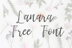 DLOLLEYS HELP: Lanara Free Font
