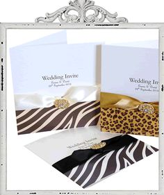 Find This Pin And More On Graphic Design Leopard Print Invitations
