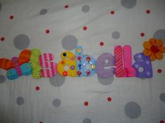 Arte Country, Door Hangers, Google, Party, Ideal House, Ideas, Wood Letters, Decorated Letters, Creative Crafts