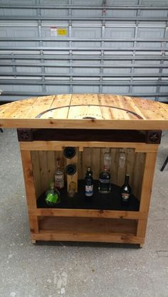 Free Of Cost This Rustic Spool Bar Height Table Was Easy