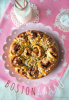 Finnish Recipes, Doughnut, Vegetarian Recipes, Healthy Lifestyle, Cereal, Sweet Treats, Bakery, Healthy Eating, Yummy Food