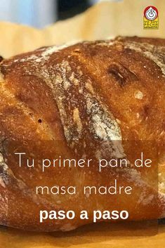Tu primer pan de masa madre: paso a paso Moist Banana Cake Recipe, Cooking Bread, Good Food, Yummy Food, Salty Foods, Pan Dulce, Pan Bread, Bread Recipes, Bakery
