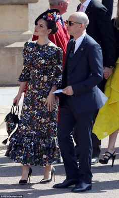 A listers: Tom and Charlotte starred together in Peaky Blinders and met on the set of an adaptation of Wuthering Heights (the pair at the royal wedding)