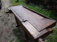 Old Carpenters work bench