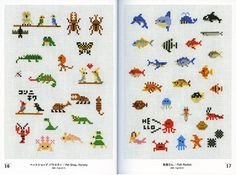 animals cross stitch