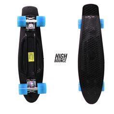 High Bounce Complete Skateboard in Sports & Outdoors & Outdoors > Outdoor Recreation > Skates, Skateboards & Scooters > Skateboarding > Standard Skateboards & Longboards > Standard Skateboards Complete Skateboards, Cool Skateboards, Outdoor Recreation, Things That Bounce, Surfing, Sports, Shopping, Black, Skateboarding
