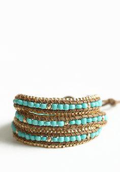 High Dignity Beaded Wrap Bracelet!