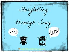 Storytelling through Song: lots of song ideas here. Don't forget the Goldilocks song: 'When Goldilocks came to the hosue of the bears, what did her blue eyes see? Music Education Games, Education And Literacy, Teaching Music, Play Based Learning, Learning Through Play, Student Learning, Preschool Music Activities, History Activities, Formal Language