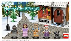 Make free LEGO minifigure family holiday cards to email Holiday Fun, Holiday Cards, Christmas Cards, Holiday Ideas, Family Thanksgiving, Family Christmas, Christmas Ideas, Lego Christmas, Xmas