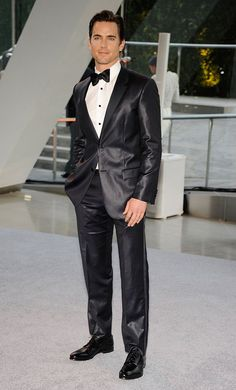 """We can't wait for Matt Bomer to take it all off when stripper flick """"Magic Mike"""" opens nationwide on July 29, but if we have to see him in anything other than the buff, we'll take him in this shiny Calvin Klein tux, which he wore to this year's CFDA Fashion Awards at Manhattan's Alice Tully Hall. (6/4/2012)"""