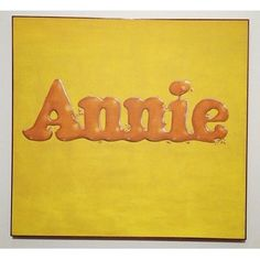 Personal Favorites at the Norton Simon Museum of Art: Ed Ruscha, Annie Poured From Maple Syrup #musuem #nortonsimon #nortonsimonmuseumofart #edruscha #ruscha #artwork #painting #pasadena #california #popart #westcoastpop
