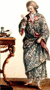 Abbigliamento orientale settecentesco