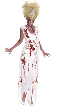 Image detail for -You are here : Home > High School Horror Zombie Prom Queen Costume
