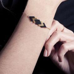 Bracelet Gaia Noir