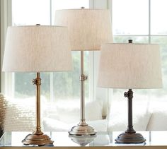 """Chelsea Table & Lamp Base 