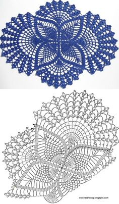 Fantastic and Attractive Crochet Pattern Ideas to Try Now - DIY For Crafts Crochet Table Runner Pattern, Free Crochet Doily Patterns, Crochet Doily Diagram, Crochet Art, Thread Crochet, Crochet Motif, Vintage Crochet, Crochet Designs, Crochet Home