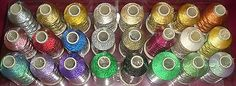 Marathon rayon embroidery machine #thread metallic #1000m #choice of colours,  View more on the LINK: http://www.zeppy.io/product/gb/2/140718043837/