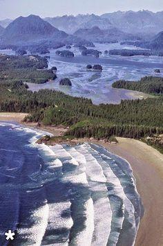 beautiful Tofino, British Columbia, Canada