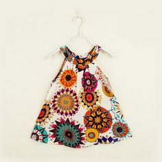 Cheap 2015 nuevas muchachas del verano de flores de algodón impresa playa o cuello sin mangas por Kid KT498, Compro Calidad Vestidos directamente de los surtidores de China:             Especificación del tamaño (                           Como referencia solamente                 )