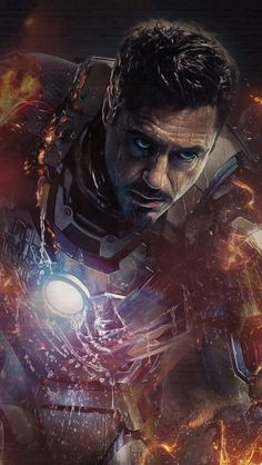 Iron Man Minimal iPhone Wallpaper - iPhone Wallpapers
