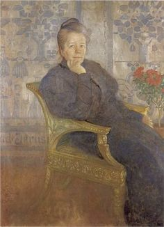 Selma Lagerlöf - Carl Larsson 1908