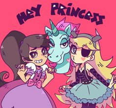 Star, Marco and Princess pony head // Star vs. the forces of evil // Disney
