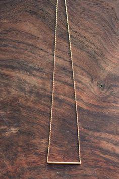 Gold Necklace – Morning Lavender