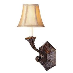 Model 3161-63: French Country Influence One-Light Wall Sconce
