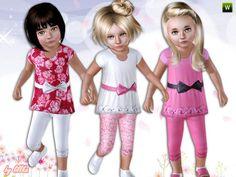 lillka's Toddler Girl ~ Dress with Leggings
