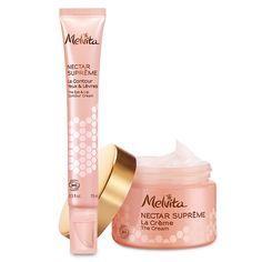 Duo Nectar Suprême (La Crème + Le Contour Yeux et Lèvres)   Melvita, cosmétique bio française depuis 1983