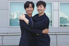 """Chief Kim"" Co-Stars Namgoong Min And 2PM's Junho Rekindle Their Bromance"