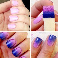 Oyedens éPonges De Nail Art Estampage Transfert De ModèLe à Ongles Outil Bricolage Manucure: Tweet 1 pc brosse MatéRiel: éPonge…