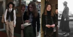 "Diane Keaton in ""Annie Hall"" - one word: MENSWEAR."