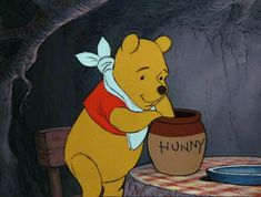 The perfect Honey Disney Pooh Animated GIF for your conversation. Discover and Share the best GIFs on Tenor. Disney Winnie The Pooh, Winnie The Pooh Quotes, Old Disney, Disney Love, Cartoon Gifs, Cute Cartoon, Pooh Bear, Tigger, Disneyland