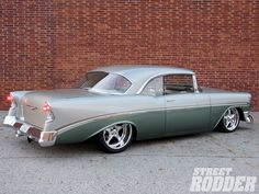 Exhaust tips - opinions and Photoshop help? - Page 5 - TriFive.com, 1955 Chevy 1956 chevy 1957 Chevy Forum , Talk about your 55 chevy 56 chevy 57 chevy - Belair , 210, 150 sedans , Nomads and Trucks, Research, Free Tech Advice