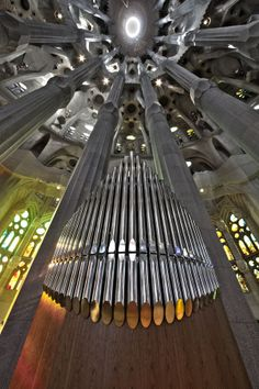 Orgue de la Sagrada Familia de Barcelona