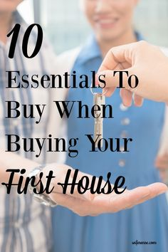 Maintenance must-haves when buying your first house.