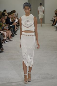 TOP AND SKIRT Azede Jean-Pierre RTW Spring 2015