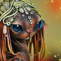 Russian Artist Combines Fantasy And Rasta Elements To Create Magical Cats | Bored Panda