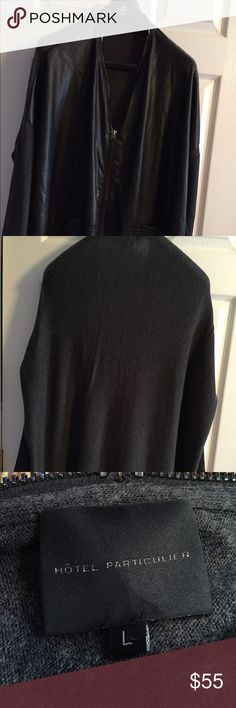Hotel Particulier Oversized Sweater For sale is a brand new never worn oversized sweater by Hotel Particulier. Size large. Hotel particulier Sweaters