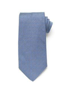 Woven Dot Tie - Blue (http://noeliasanchez.jhilburn.com/products/woven_dot/blue) $89