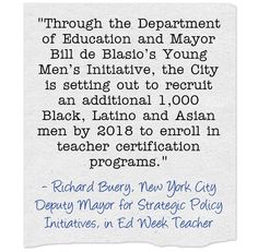 In Part One of a three-post series, Richard Buery, Dr. Margarita Bianco, Dr. Rachelle Rogers-Ard and Christopher Rogers share stories from school districts that have implemented innovative strategies to recruit and retain teachers of color