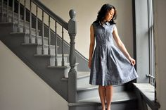 McCall's 6696 : Chambray Union by make_something, via Flickr